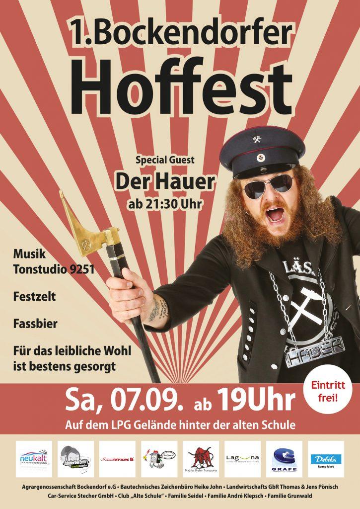 1. Bockendorfer Hoffest